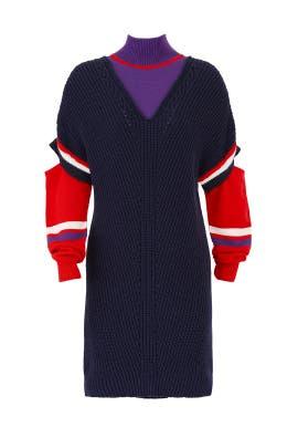 Pickoff Sweater Dress by PINKO