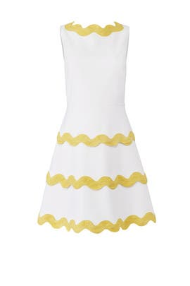 White Ric Rac Dress by Sail to Sable