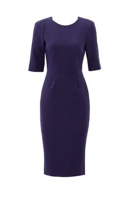 Deep Blue Trina Dress by ST by Olcay Gulsen