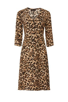 Leopard Print Dress by Slate & Willow