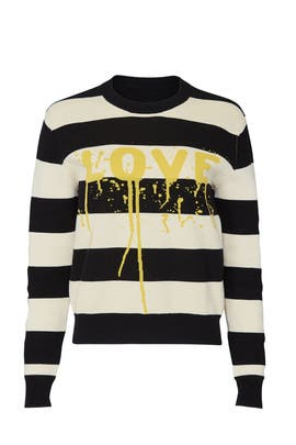 Stripe Love Sweatshirt by Zadig & Voltaire