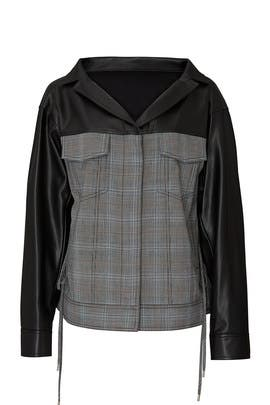 Oversized Ruched Jacket by ADEAM