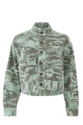 Camo Army Patch Jacket by AMO