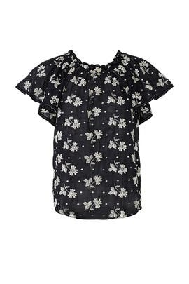 Helene Embroidery Top by La Vie Rebecca Taylor