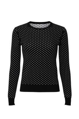 Mini Polka Dot Sweater by Theory
