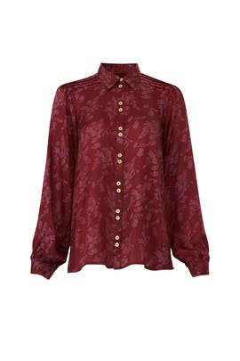 Burgundy Classic Shirt by byTiMo