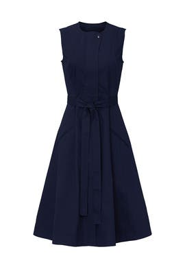 Denim Tie Dress by Derek Lam Collective
