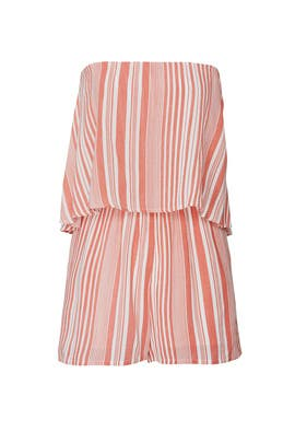 Ocean Side Stripe Romper by MINKPINK