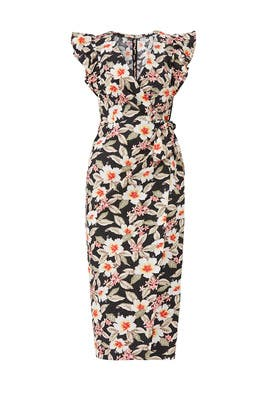 Kamea Wrap Dress by Rebecca Taylor