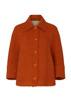 Red Wool Jacket by See by Chloe