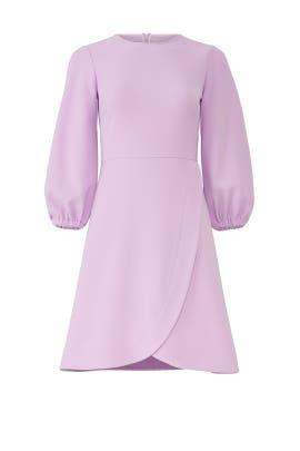 Lavender Puff Sleeve Dress by Shoshanna
