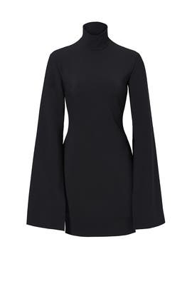 Black Franklin Dress by Solace London