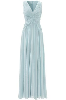 Blue Paloma Gown by Slate & Willow