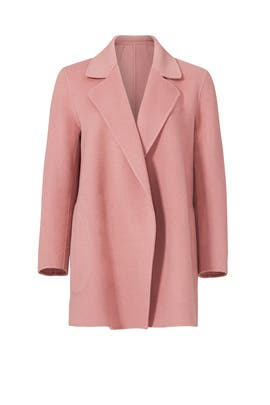 Pink Clairene Jacket by Theory