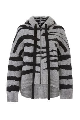 Lennox Zip Up Cardigan by Zadig & Voltaire