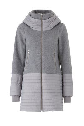 Grey Avery Coat by SOIA & KYO