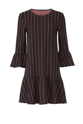Striped Swing Dress by Slate & Willow