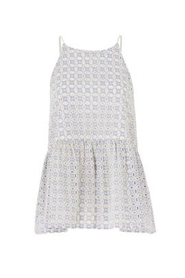 Eyelet Lagos Top by Paper Crown