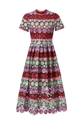 Multicolor Daniella Dress by Alexis