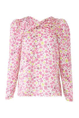 Marker Floral Devore Top by kate spade new york