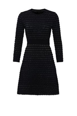 Scallop Shine Sweater Dress by kate spade new york