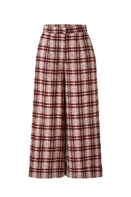 Plaid Pearl Culottes by Paper Crown