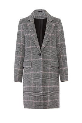 Plaid Anders Coat by Rails