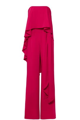 Wildberry Flow Jumpsuit by Halston Heritage