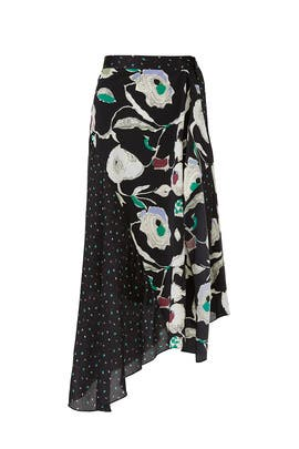 Matisse Floral Dot Skirt by Jason Wu