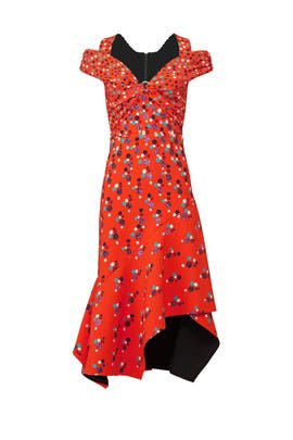 Red Minnie Dress by Peter Pilotto