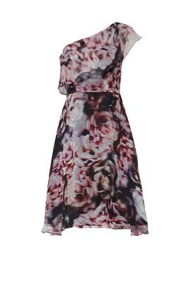Abstract Floral Dress by Slate & Willow