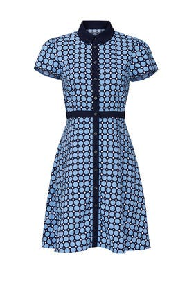 Mixed Dot Shirtdress by Draper James