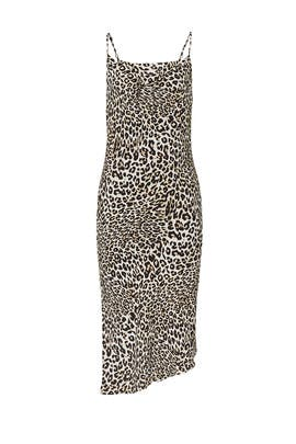 Leopard Slip Dress by Fifteen Twenty
