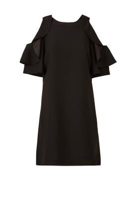 Black Cold Shoulder Dress by kate spade new york