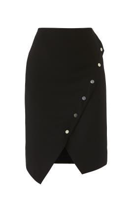 Camilla Button Skirt by Rebecca Minkoff