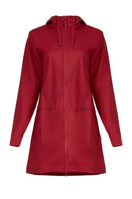Scarlett Red Coat by RAINS