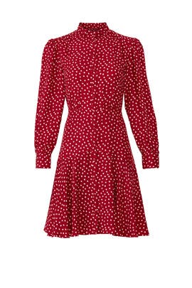 Long Sleeve Heart Dress by Rebecca Taylor