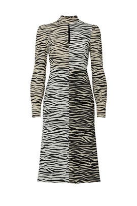 Zebra Print Kennedy Dress by A.L.C.