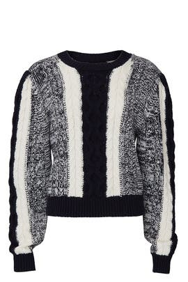 Colorblock Wool Sweater by Jason Wu