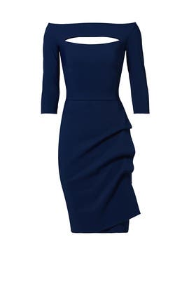 70583aa917d Navy Kate Sheath by La Petite Robe di Chiara Boni