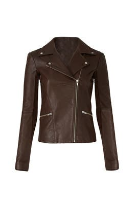 Brown Dallas Jacket by VEDA