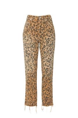 Roxy NADIA CROP Camel Khaki Frill Designer Stitch Cotton Junior/'s Capri Pants
