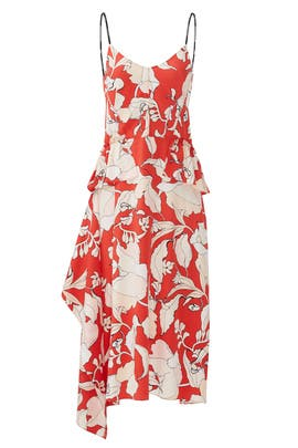 Flamenco Peplum Dress by Derek Lam 10 Crosby