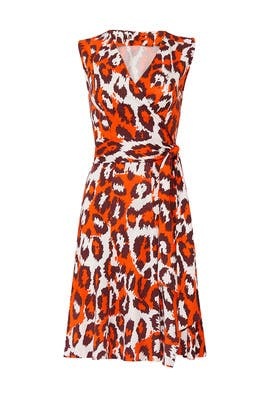 Jasmine Wrap Dress by Diane von Furstenberg