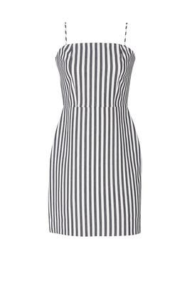 Spaghetti Strap Striped Dress by Fifteen Twenty