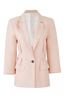 Pink Lian Blazer by Joie