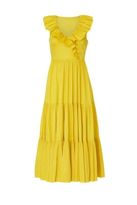 Poplin Ruffle Tiered Dress by kate spade new york