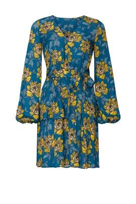 Floral Ruffle Layer Dress by Louna