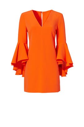 Orange Italian Nicole Dress by Milly