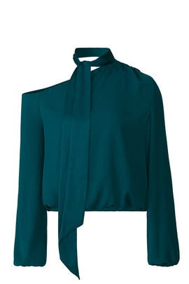 Teal Seneca Top by Ramy Brook